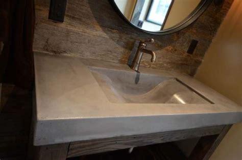 concrete bathroom countertop concrete bathroom countertop bath pinterest