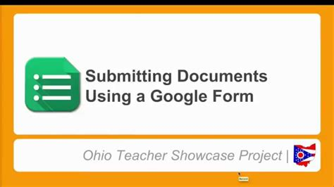 google forms tutorial youtube submitting documents using a google form tutorial youtube