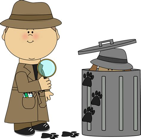 find clipart detective looking for clues clip detective looking