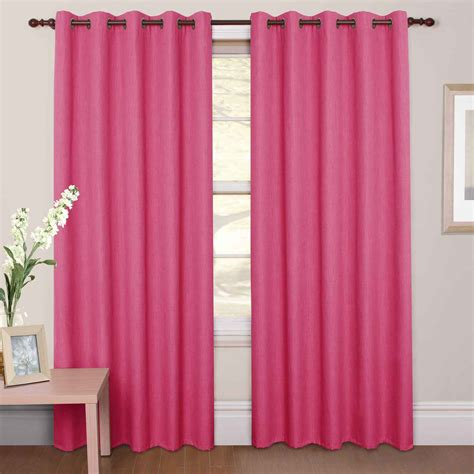 fushia pink curtains hot pink curtain panels curtain menzilperde net