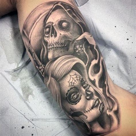 70 grim reaper tattoos for men merchant of death designs