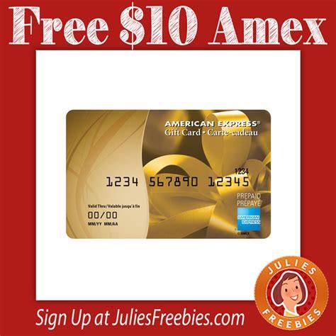 Amex Prepaid Gift Card Amazon - free 10 amex prepaid gift card julie s freebies