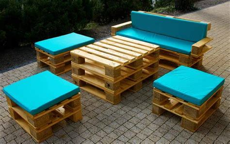 Handmade Outdoor Furniture - diy pallet patio and living room furniture ideas 99 pallets