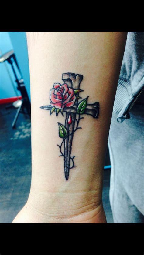 rose tattoo with cross best 25 cross designs ideas on cross