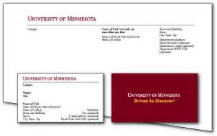 of minnesota business cards stationery and business cards relations