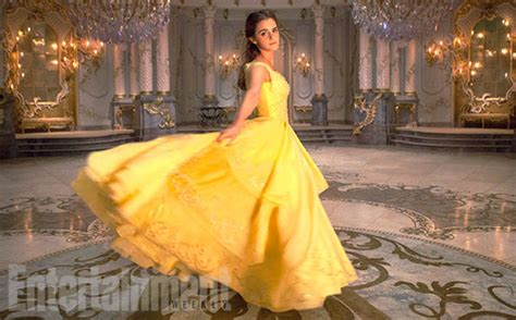 beauty and the beast official first look at disney s live action beauty and the