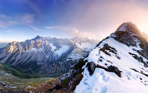mountains austria panorama wallpapers mountains austria