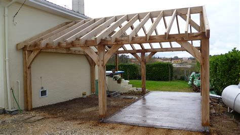 Timber Car Port by Garages And Car Ports Oak Timber Framing Carpentry In