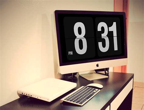 turn  sexy cinema display   giant flip clock