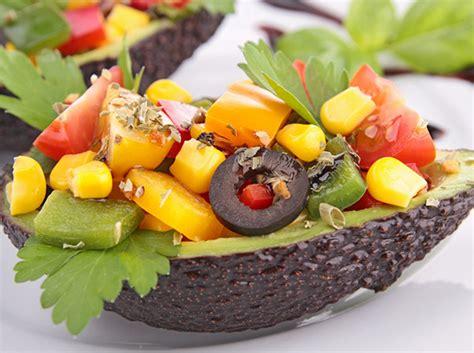 avocado seed boat salads recipes