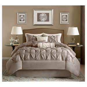 Comforter Sets Taupe Piedmont 7 Comforter Set Taupe Target