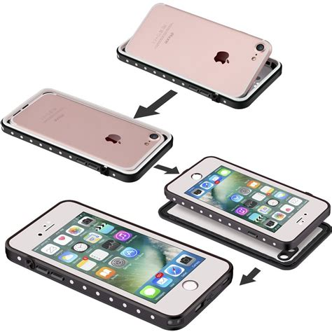 impactstrong iphone 7 waterproof fingerprint id compatible slim protection for