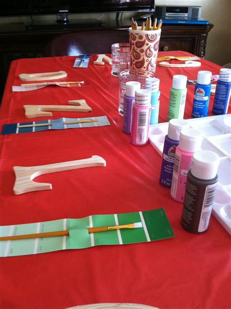 themes for a girl s 11th birthday party my girl s 11th birthday paint party birthday ideas