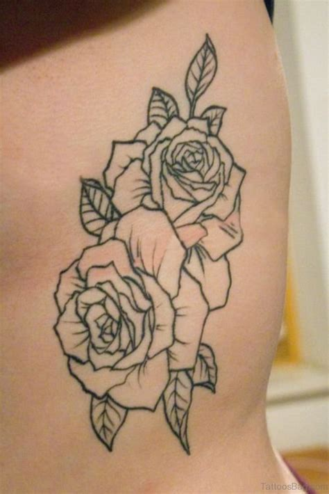 rose tattoo on ribs 68 pretty for rib