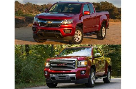 chevy colorado vs gmc 2017 chevy colorado vs 2017 gmc to u