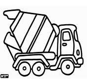 Ausmalbilder Baufahrzeuge