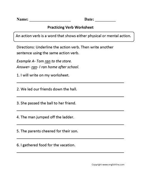 subject verb agreement worksheets 3rd graders
