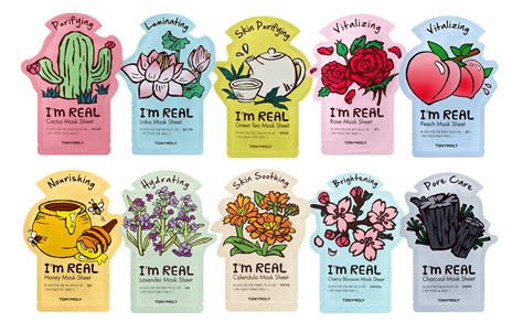 korea mask sheet news from tonymoly i m real sheet masks new in 2017 k