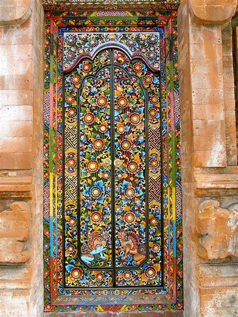 20 Fantastic Doors From Around The World Mosaic Glass Door