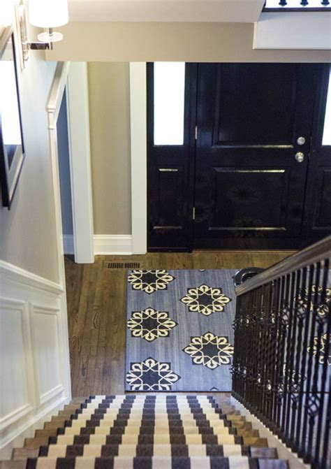 entry door rugs home details on genevieve gorder hgtv homes and tile