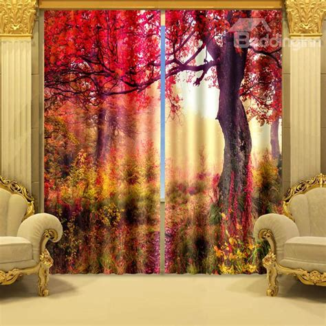 Curtains Autumn Colours Fall Color Drapes To Spruce Up Your Room For Autumn Funk This House