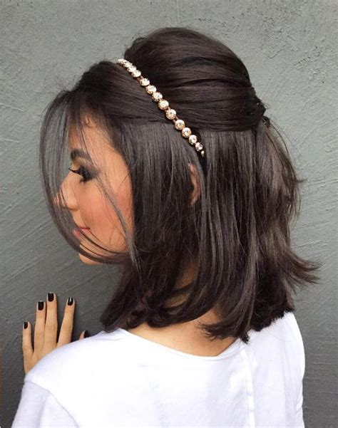 easy hairstyles for medium hair for a wedding 40 best short wedding hairstyles that make you say wow
