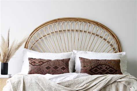 butterfly queen bedhead naturally cane rattan  wicker