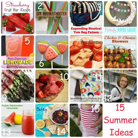 15 summer craft and diy ideas for the home setting for 4 block party diy summer ideas features rae gun ramblings