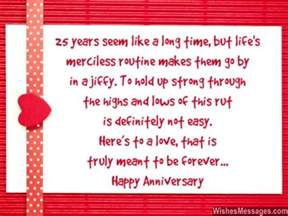 25th anniversary wishes silver jubilee wedding anniversary quotes wishesmessages