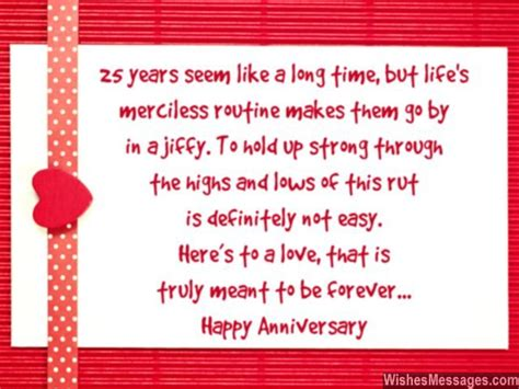 Wedding Anniversary Wishes One Line by 25th Anniversary Wishes Silver Jubilee Wedding