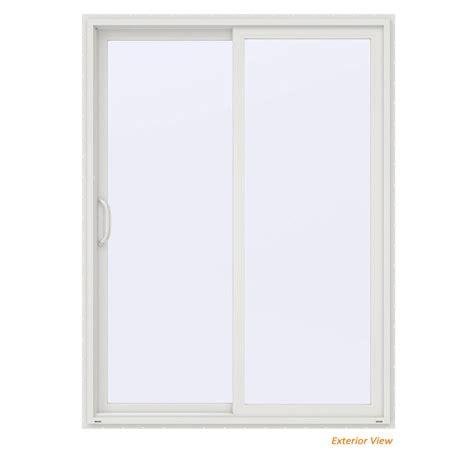 jeld wen patio doors reviews jeld wen 72 in x 80 in v 2500 white vinyl right 15