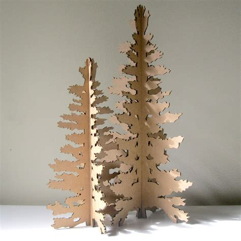cardboard christmas tree paper christmas tree holiday