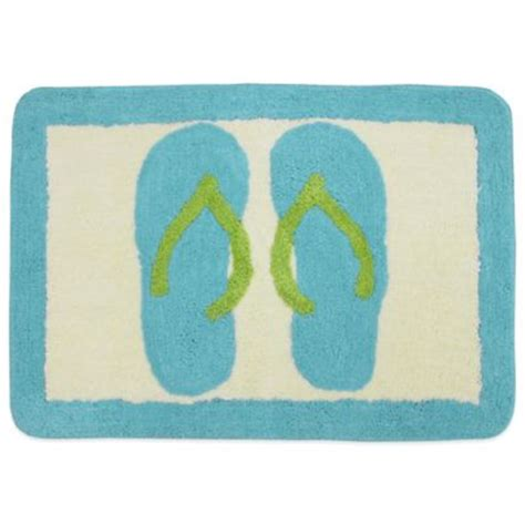 Flip Flop Bath Rug Buy Bathroom Decor From Bed Bath Beyond