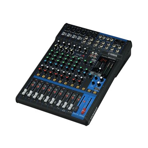 Mixer Audio Yamaha Mg12xu yamaha mg12xu usb mg series 12 input audio mixer