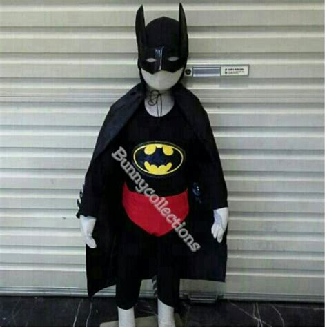 Kostum Anak Batman 2 jual baju batman anak kostum batman lengkap dengan atribut bunny collection