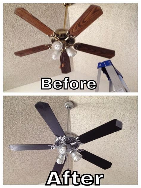 How To Paint A Ceiling Fan by Best Painted Ceiling Fans Ideas On
