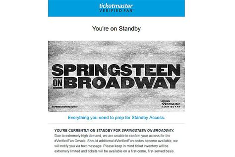 bruce springsteen verified fan we ve got your bruce springsteen verified fans right here