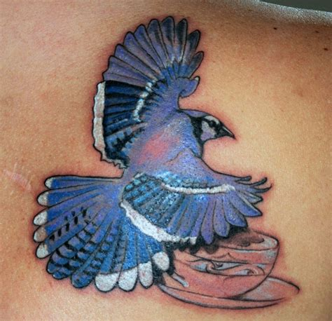 blue jay bird tattoo meaning