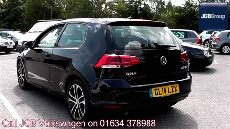 black volkswagen golf 2014 volkswagen golf gt 2l black metallic gl14lzx for