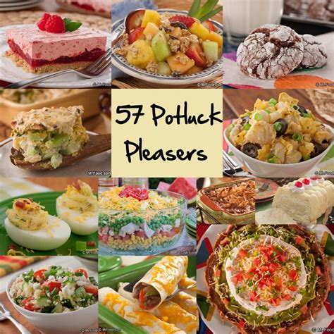 guide for hosting a potluck party