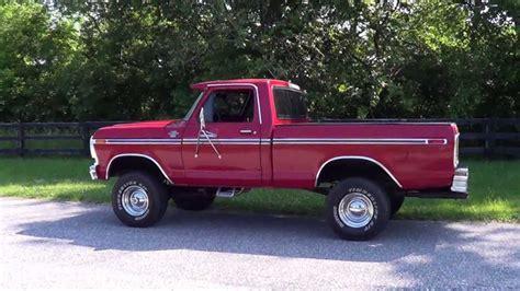78 ford ranger for sale 1978 78 ford ranger xlt 4x4 bed sold