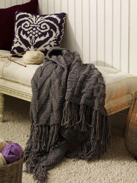 wolle decke anleitung jaquard decke wolle knitting