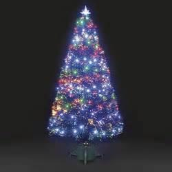 Ft Black Fibre Optic Christmas Tree - 6ft galaxy multi colour fibre optic christmas tree with leds ebay
