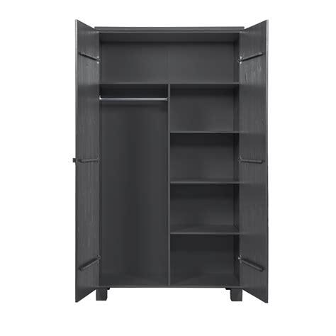armoire en pin 2 portes armoire 2 portes en pin masssif blanc design scandinave denis