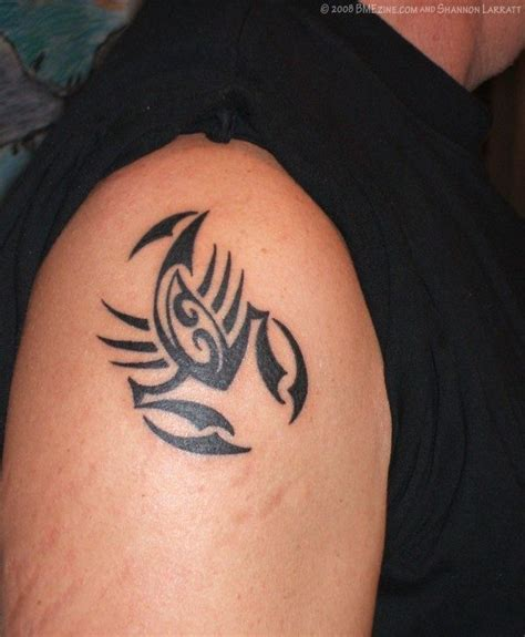 tribal scorpion tattoos for men 20 scorpio zodiac tattoos