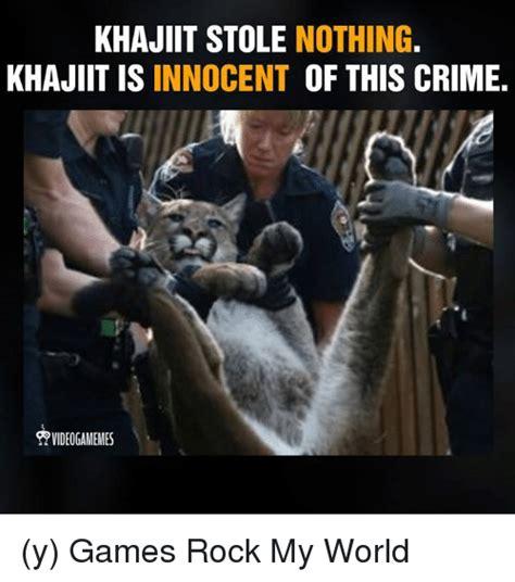 Khajiit Meme - 25 best memes about khajiit is innocent khajiit is