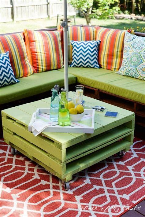 diy pallet patio furniture recycled pallets furniture a way forward diy and crafts