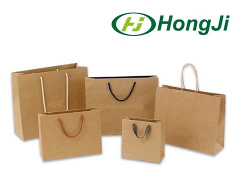 How To Make Eco Friendly Paper Bags - recycle eco friendly brown paper bag shopping kraft paper