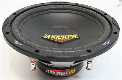 Kicker Sleting for sale kicker 10 quot sub box and free