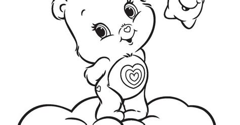 wonderheart bear coloring pages care bears wonderheart coloring page jpg 1244 215 1600